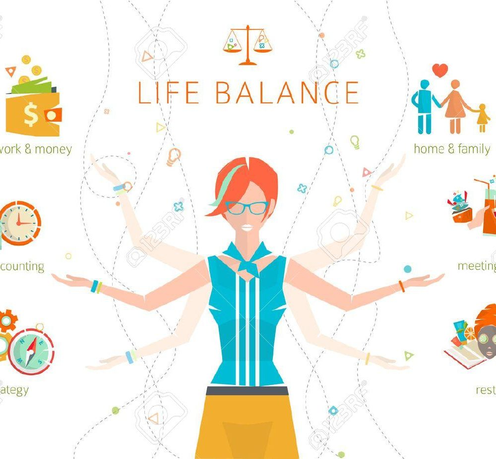 44184338-concept-of-work-and-life-balance-dividing-of-human-energy-between-important-life-spheres-vector-illu