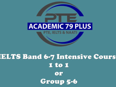 IELTS band 6-7 intensive course
