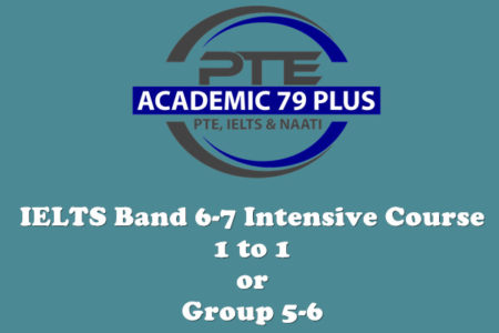 IELTS band 6-7 intensive course
