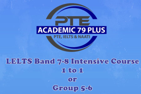 IELTS Band 7-8 intensive writing course