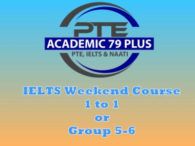 IELTS weekend course