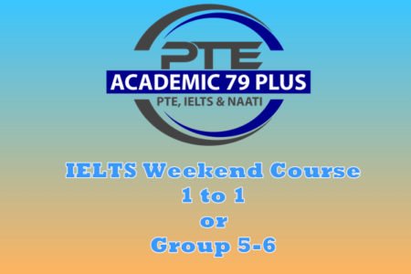 IELTS weekend course