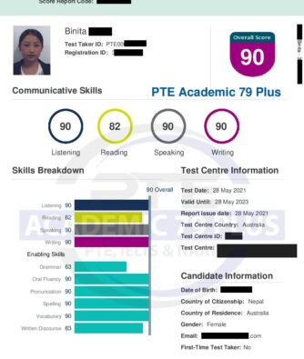 Unlimited PTE course (Target 65 or 79 achievers)